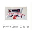 Driving School Supplies