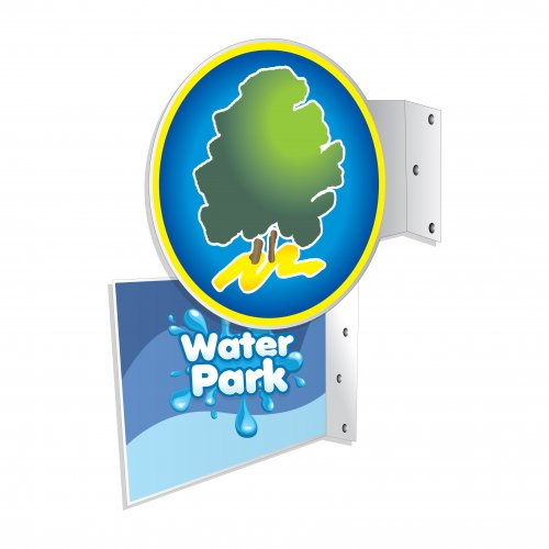 Flange Wall Signs