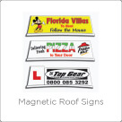 Magnetic Roof Signs