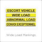 Wide Load Markings