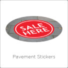 Pavement Stickers