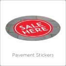 Pavement Stickers