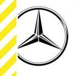 chevron-mercedes logo