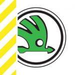 chevron-skoda logo