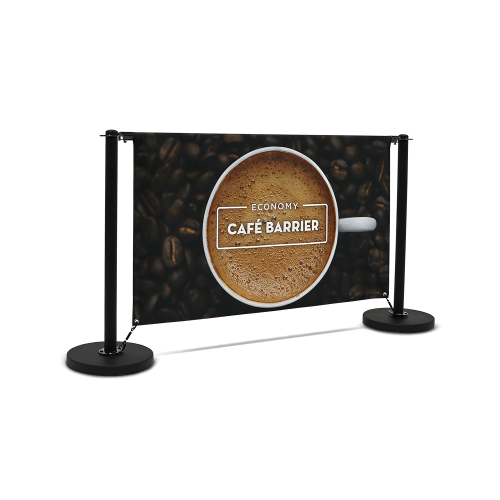 cafe barrier economy 1500 double sided front