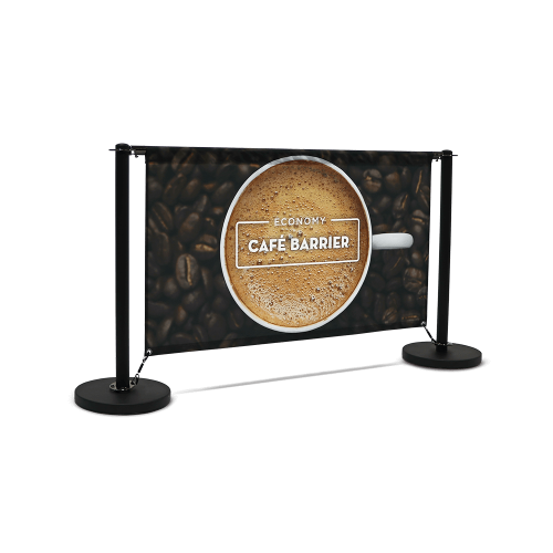 cafe barrier economy 1500 single sided front